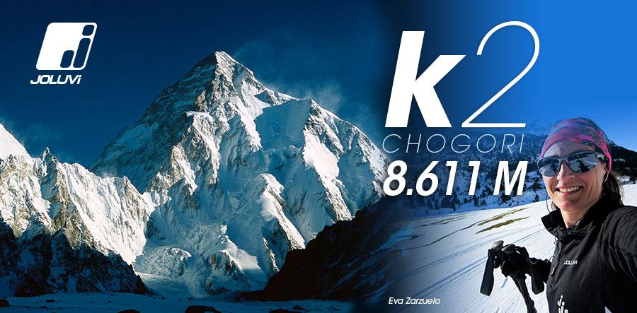 Eva Zarzuelo a por el K2