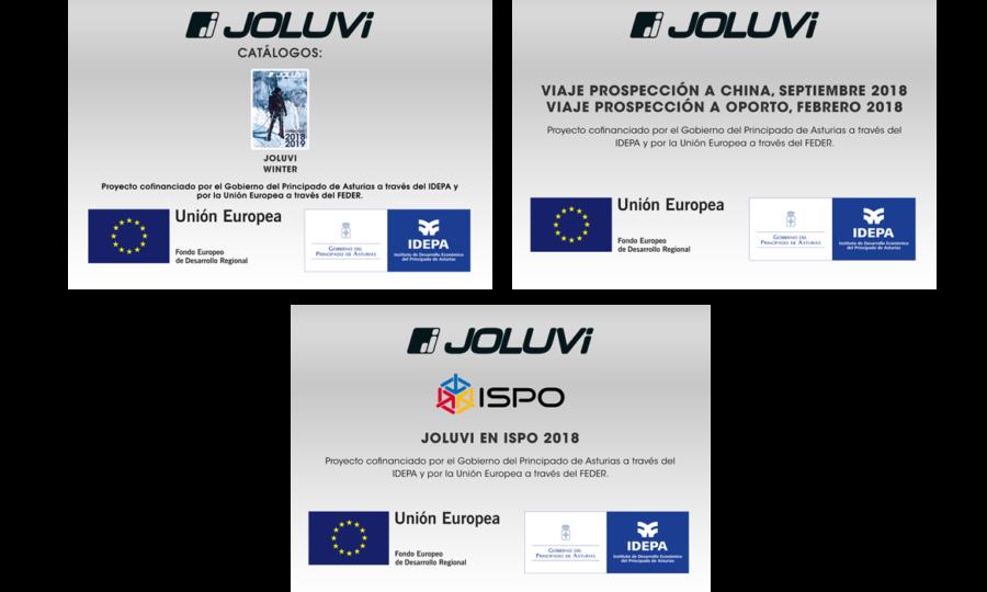 Joluvi, el IDEPA y el FEDER 2018